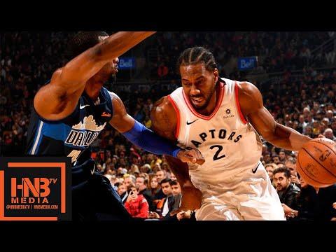 Toronto Raptors vs Dallas Mavericks Full Game Highlights | 10.26.2018, NBA Season