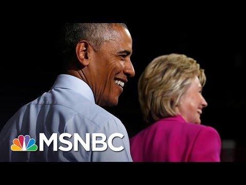 How President Obama Will Impact Hillary Clinton's Campaign | All In | MSNBC