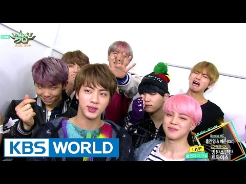 BTS & TWICE COMES BACK!!!![Music Bank / 2017.02.24]