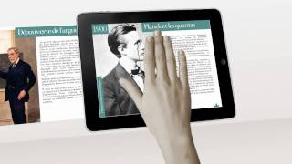 Marie Curie Femme de science - Application iPad et tablettes