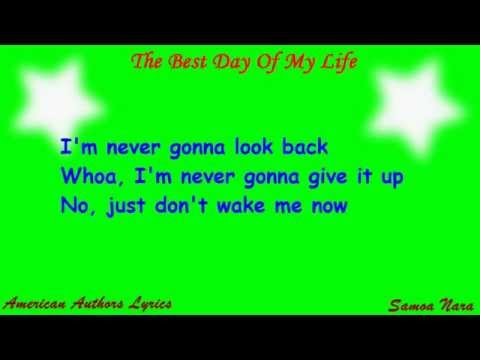 download lagu American Authors - The Best Day Of My Life S On Screen gratis