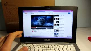 ASUS X201E notebook Windows 8 bemutat vide | Tech2.hu