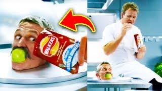 10 Hilarious Gordon Ramsay Commercials
