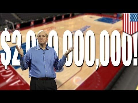 Ex-Microsoft CEO Steve Ballmer, gustong bilhin ang LA Clippers sa halagang 2 billion!