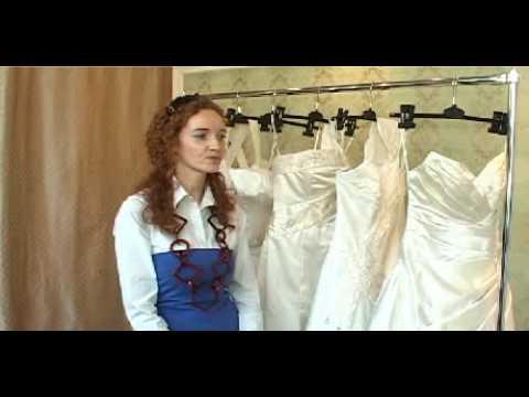 Suknia ślubna a sylwetka panny młodej-  www.slubnatv.tv