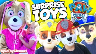 PAW PATROL SURPRISE TENT Filled New Paw Patrol Toys & Paw Patrol In Real Life by Epic Toy Channel