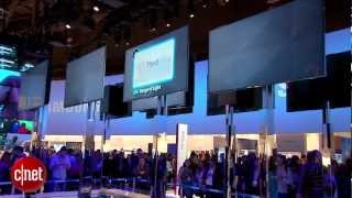 CNET News - Gigantic TVs impress at CES