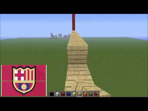 Pixel art Tutorial - How to build pixel art effectively [Minecraft]