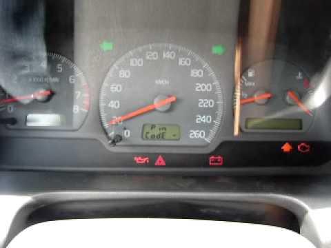 """Volvo S40 Velocimetro Bloqueado """"pin Code"""" - YouTube"""