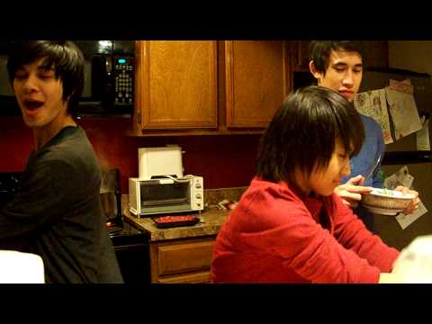 Filipino gays cooking