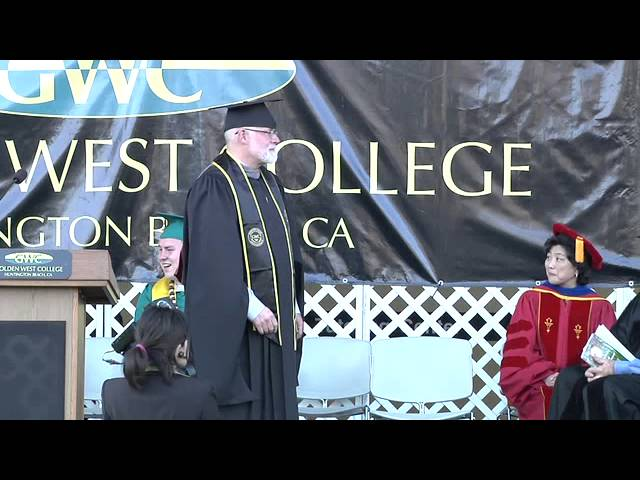 Golden West College 2011 Commencement Ceremony