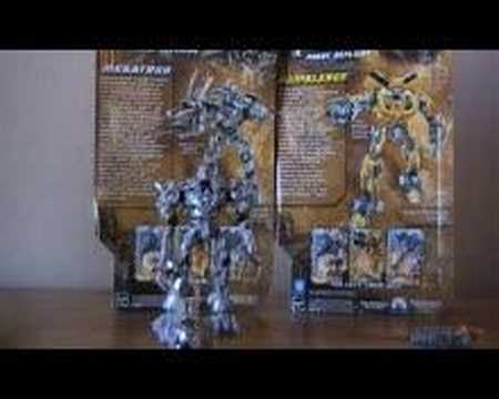 Transformers Megatron and Bumblebee Robot Replica reviews