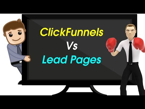 Clickfunnels vs Lead Pages   Is Clickfunnels Really Better?   Review and Comparison