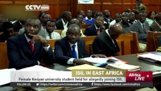 Female Kenyan university student held for allegedly joining ISIL