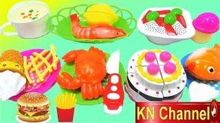 KN Channel Đồ chơi nấu ăn CỦA BÉ NA | BÁNH SINH NHẬT CHOCOLATE KHỔNG LỒ