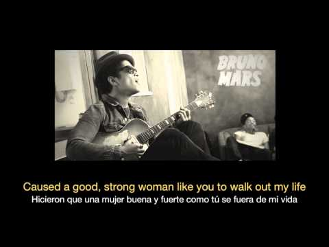 Bruno Mars - When I Was Your Man Hd (sub Español - Ingles) video