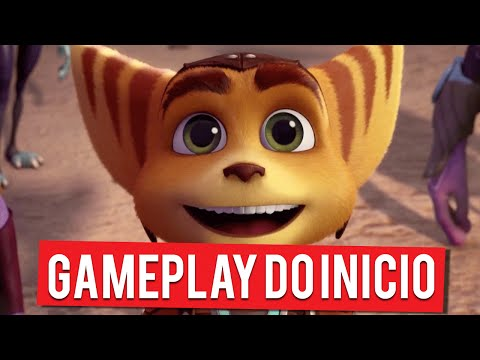 Ratchet And Clank | Gameplay Do Início (PS4 Gameplay PT-BR Português)