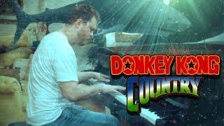 Donkey Kong Country Theme on Piano - 3 Donkey Kong Music