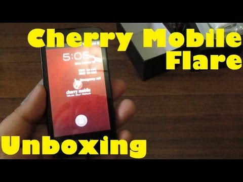 Cherry Mobile Flare Unboxing - Dual-Core 1.2Ghz. Dual SIM 3G. Android 4.0 Phone For Only PHP 3.999