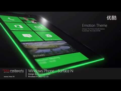 Windows Phone Surface N aka WP Surface Nova Concept