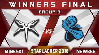 Mineski vs Newbee Winners Final Starladder i-League 2018 Highlights Dota 2