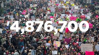 How Far Can 4,876,700 People Reach?