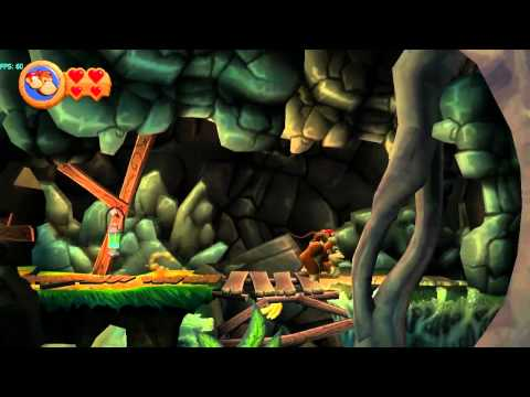 Donkey Kong Country Returns (Wii) on Dolphin Wii/GC Emulator (720p HD) Full Speed