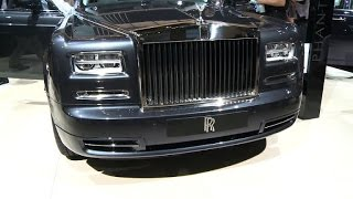 Rolls-Royce with strong sales, unveils new model in Paris