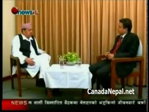 KING GYANENDRA INTERVIEW