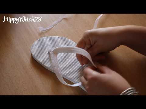 D.I.Y.  Flip Flops – Come modificare delle INFRADITO