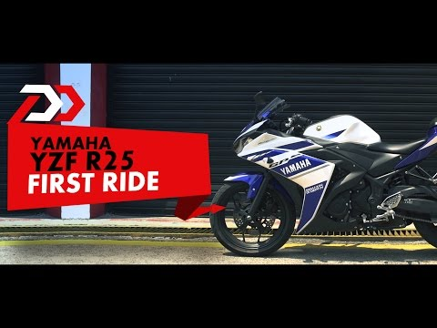 First Ride: Yamaha R25 : PowerDrift