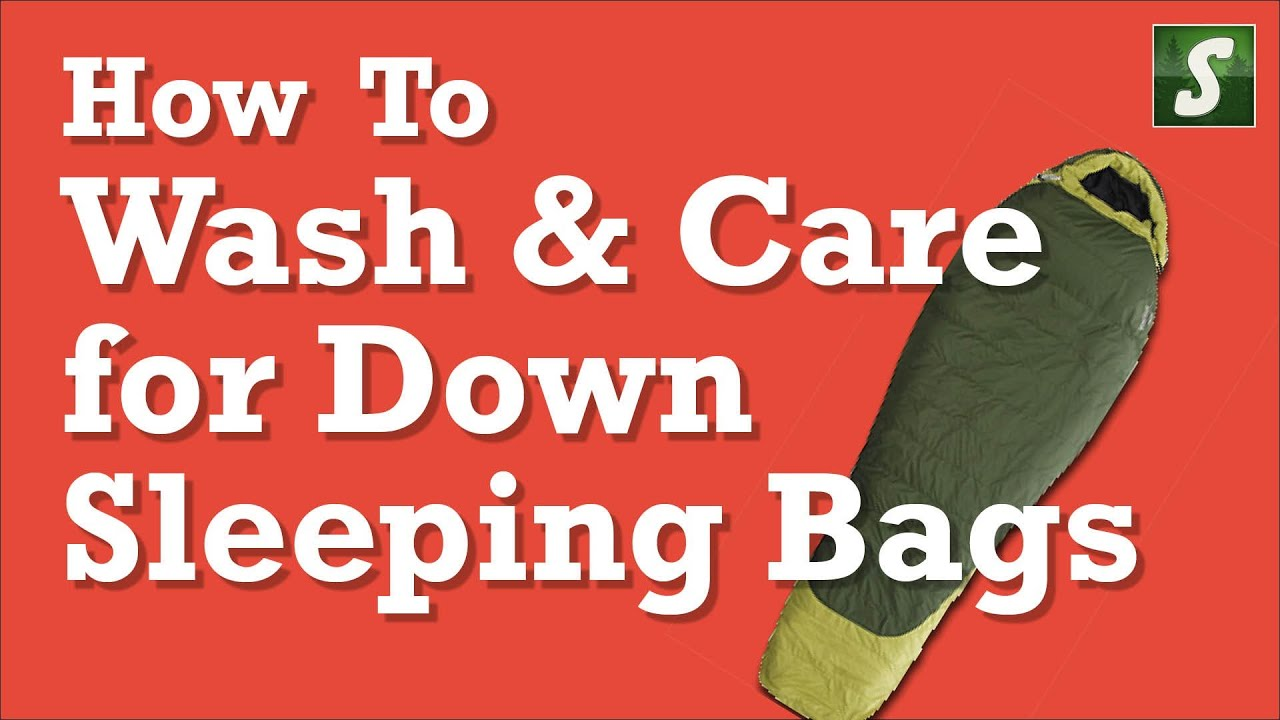 How to Wash and Care for a Down Sleeping Bag