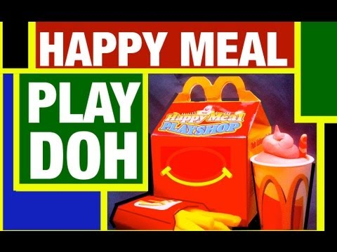 Play Doh McDonald's Happy Meal Burger Builder Toy Review by Mike Mozart of TheToyChannel