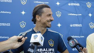 Zlatan Ibrahimovic on the LA Galaxy's playoff match vs. Minnesota United and his future in MLS