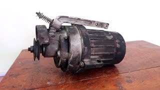 Mr.Electricity // Sewing Machine Motor Restoration | Restoration Perfect