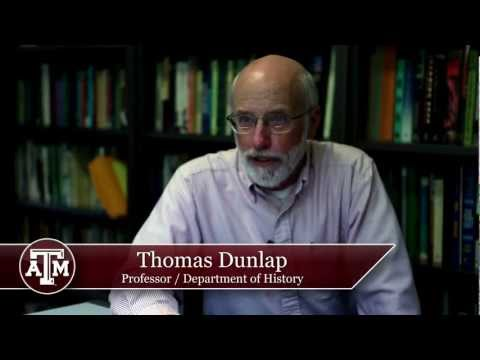 Discussing Environmentalism with Thomas Dunlap, A&M History Prof
