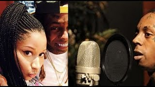 Lil Wayne and Nicki Minaj FIRST TIME in Studio BEFORE the Fame, Lil Wayne Shows Recording Process