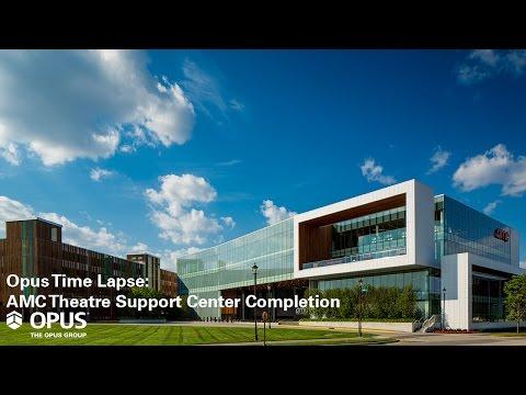Amc theatre support center for Capstone exterior design firm