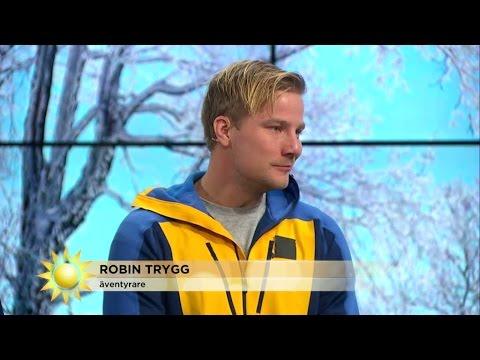 Så håller du dig lika varm som äventyraren Robin Trygg i kylan - Nyhetsmorgon (TV4)