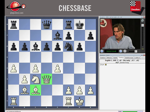 ChessBase Tutorials Vol 5 - Flank Openings: Nimzo-English and Queen's Indian patterns