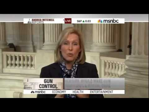 Senator Kirsten Gillibrand: Anti-Gun Trafficking Bill (January 24, 2013)