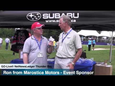 Ron Marostica - Marostica Suburu - Event Sponsor - Staal Foundation Open 2014