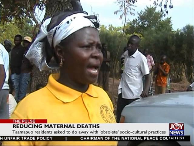 Reducing Materials Deaths -The Pulse on Joy News (2-5-16)