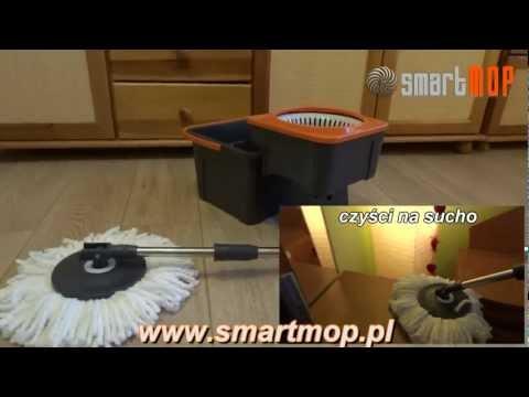 Smart Mop PLUS 360 obrotowy mop 3w1  www.smartmop.pl