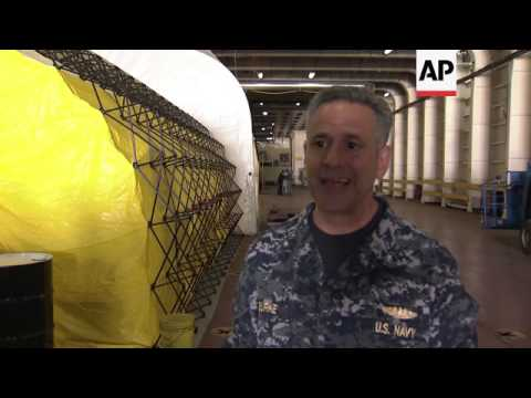 OPCW showcases ship that will be used to destroy Syria's chemical weapons