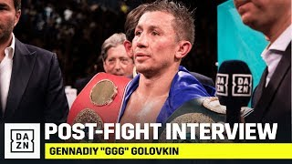 GGG Reacts To Close Win Over Derevyanchenko