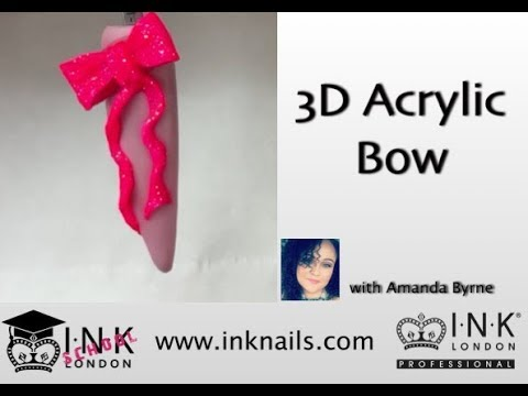 3D Bow using INK London Acrylink