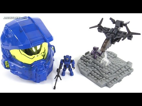Mega Bloks Halo Micro Fleet Falcon Conquest review!