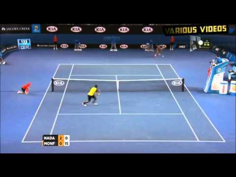 Rafael Nadal vs Gaël Monfils - Highlights Australian Open 2014