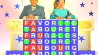 Alain Chabat et Marina Foïs ne connaissent qu'un seul mot : tabouret - Parodie Motus